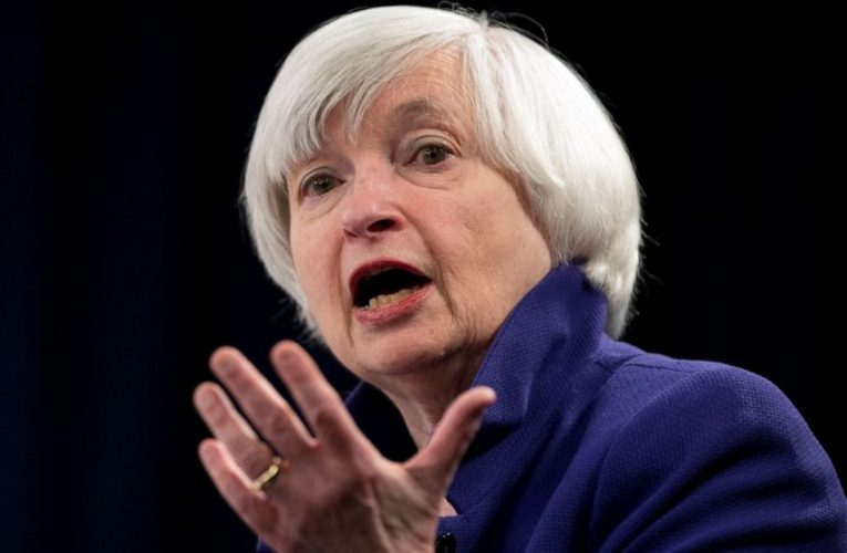 Yellen plays down inflation fears, pushes for relief bill