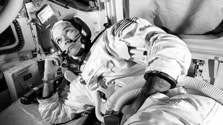 Astronaut Michael Collins, a pilot on Apollo 11's mission to the moon, dies at 90