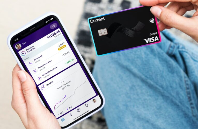 Digital bank Current triples valuation in five months to $2.2 billion after Andreessen takes stake