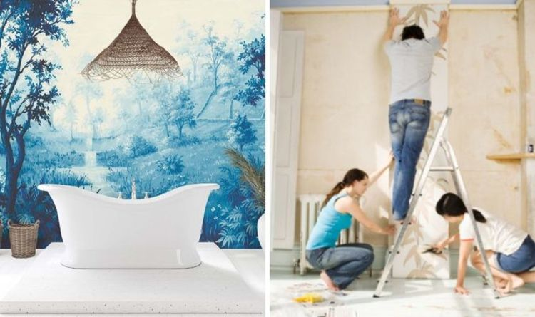 How to hang wall murals: What's the difference between wall murals and wallpaper?