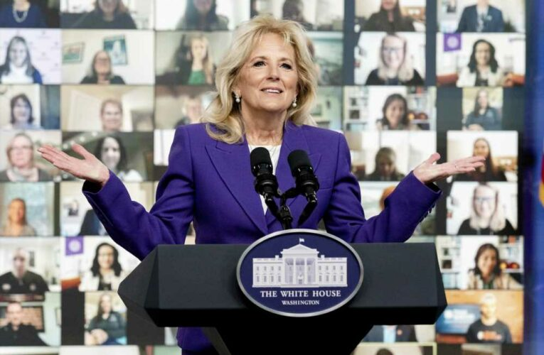 Jill Biden Says Being a Military Family Member 'Shaped Who I Am' as She Expands Initiative