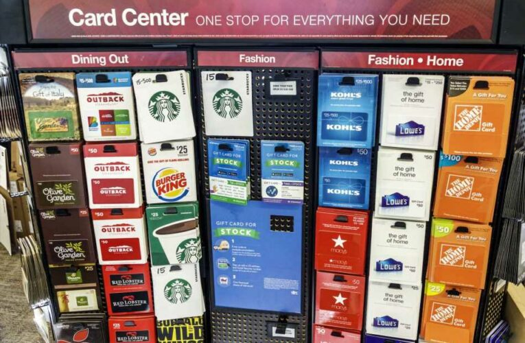 1 in 10 people fall victim to gift card scams, AARP says