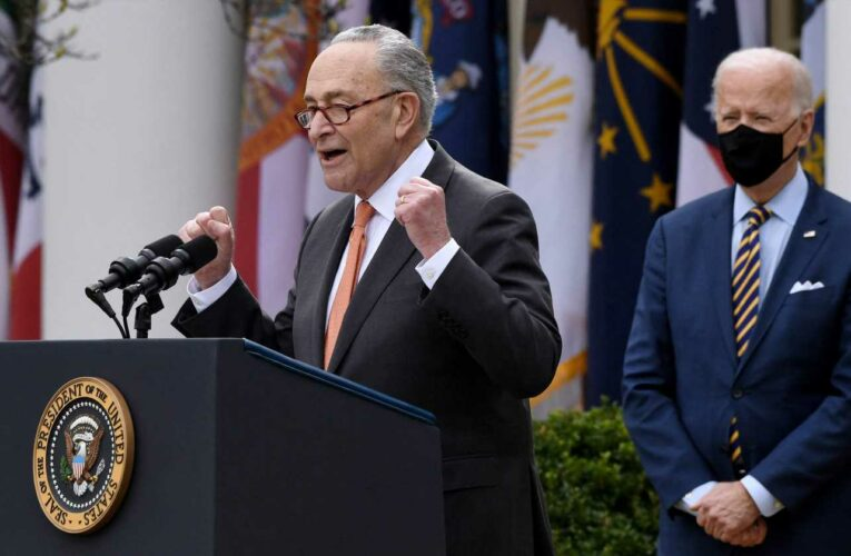 'We're going to move forward, period': Schumer ready to move on changes to marijuana laws – even if Biden isn't