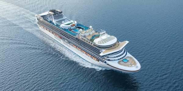 Princess Cruises is turning its ships into 'offices at sea' with WiFi as fast as land