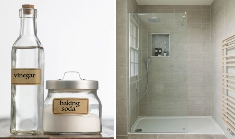 Cleaning: Use baking soda to get your shower glass door or screen squeaky clean
