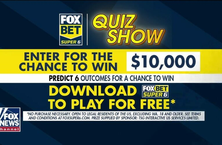 FOX Bet Super 6 Quiz Show offers $10,000 grand prize on Preakness weekend