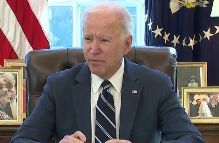 Fox News Poll: Growing number see Biden as too liberal