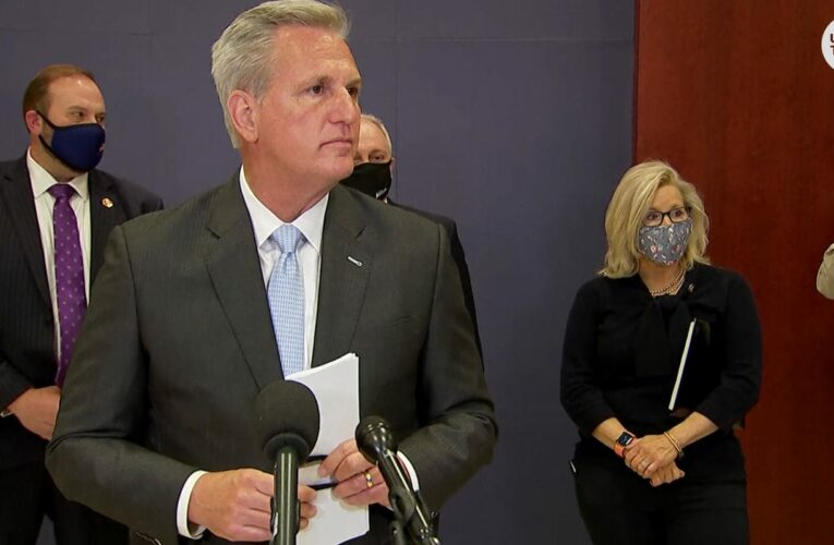 House GOP leader opposes bill to create commission to study Jan. 6 Capitol riot