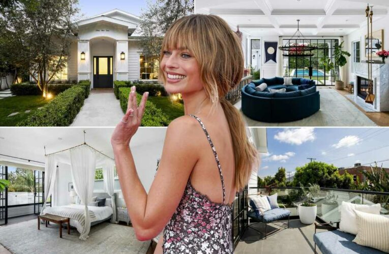 Inside Margot Robbie's $3.47M LA home she just put on the market
