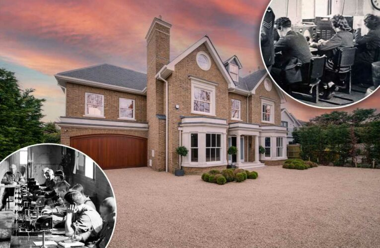 Inside the $12M London spy mansion that helped end WWII