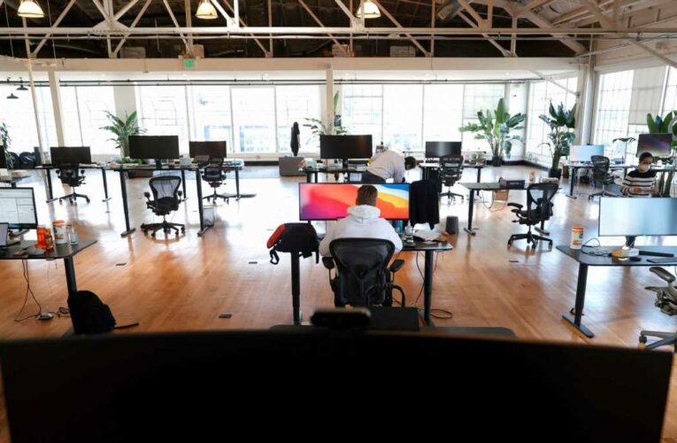 San Francisco tech companies are sitting on record amounts of empty office space and offering perks to lure tenants