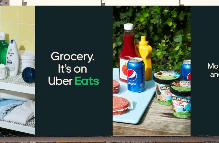 Uber CEO describes ongoing 'battle' with Instacart as he predicts groceries will becomea significant portion of his company's business in the next 2 years