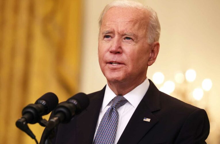 White House releases the Bidens' tax return, showing their income dropped
