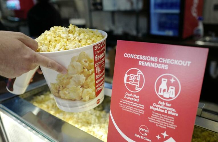 AMC shares soar to an all-time high