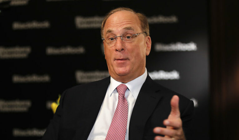 BlackRock CEO Larry Fink warns investors are in for a  'pretty big shock' as inflation fears grow