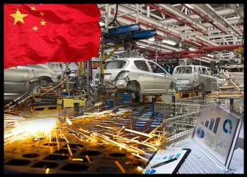 China Industrial Output, Retail Sales Growth Eases More Than Expected