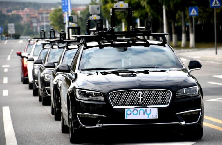 Driverless car firm Pony.ai hires JPMorgan executive as its first CFO