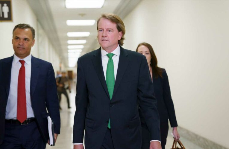 'Point of no return': Don McGahn describes concerns with Trump's handling of Russia probe