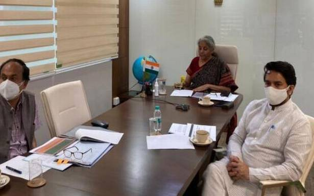 Process health workers' insurance claims on priority, Nirmala Sitharaman tells States