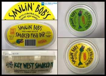 Smilin' Bob's Recalls Smoked Fish Dip Products