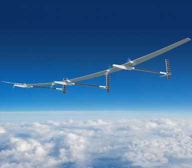 Solar-powered drones flying up to 70,000ft for a YEAR could be used in space wars if satellites are wiped out