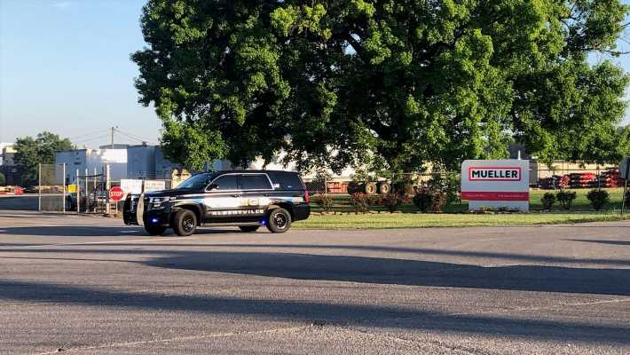 Workplace shooting at Alabama plant leaves 2 dead, 2 injured; police search for suspect