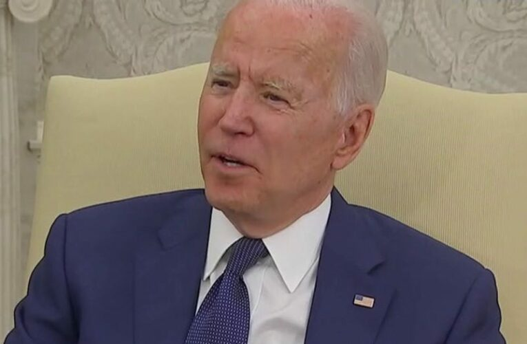 Biden calls reporter 'pain in the neck' for question about Veterans Affairs COVID-19 vaccine mandate