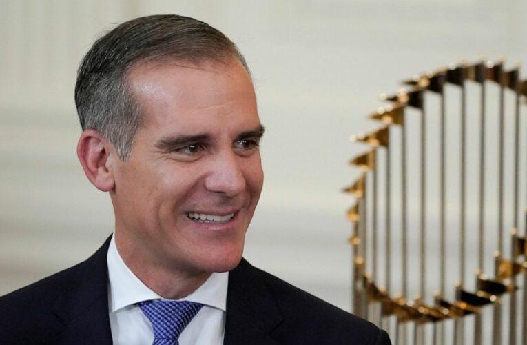 Biden nominates LA mayor Eric Garcetti for India ambassador