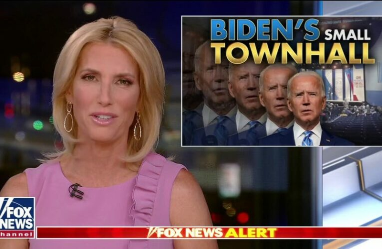 Ingraham: Biden's CNN town hall was a 'pathetic exercise of fawning and futility'