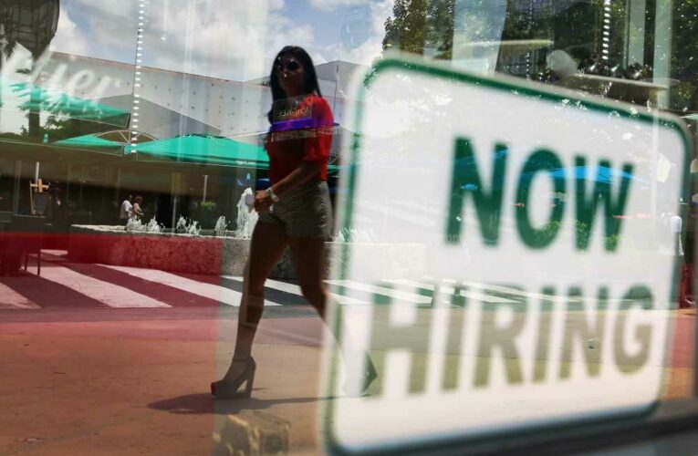 Jobless claims hit new pandemic low, while New York manufacturing notches record high