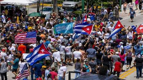 Mayorkas says migrants fleeing Cuba, Haiti by sea will not be allowed to enter US