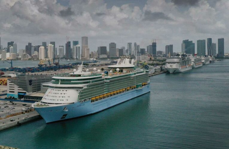 Royal Caribbean shares tumble as 6 Covid cases discovered on board a ship, cruise line expands U.S. testing policy