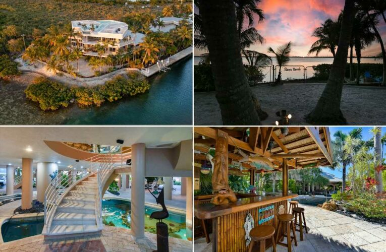 Snorkel at home in this $6M mansion with in-house coral reef