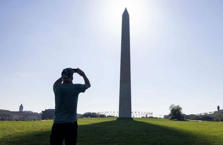 The Washington Monument is reopening Wednesday after being closed because of COVID