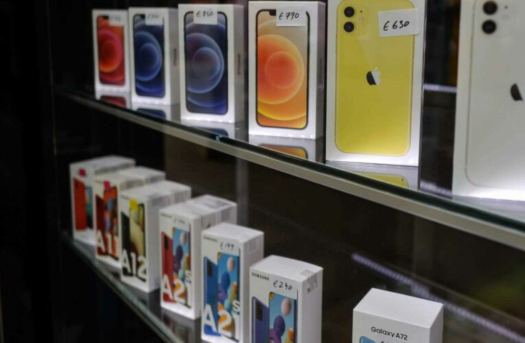 The global chip shortage is starting to hit the smartphone industry