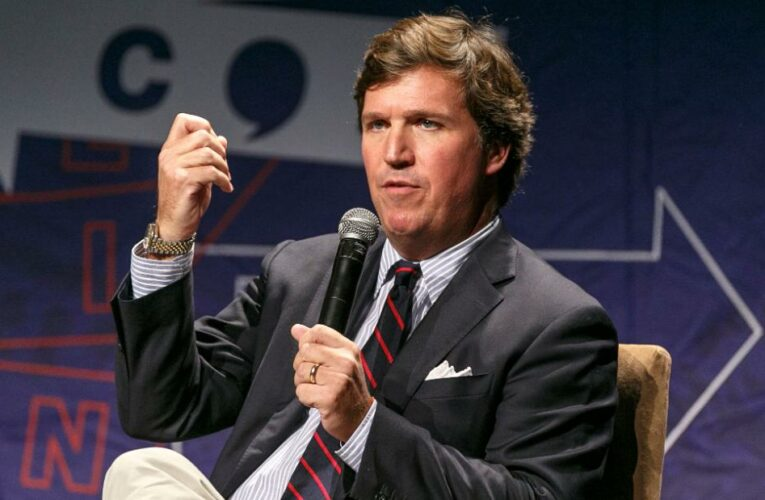 Tucker Carlson says he's being spied on. His own colleagues don't seem to believe it