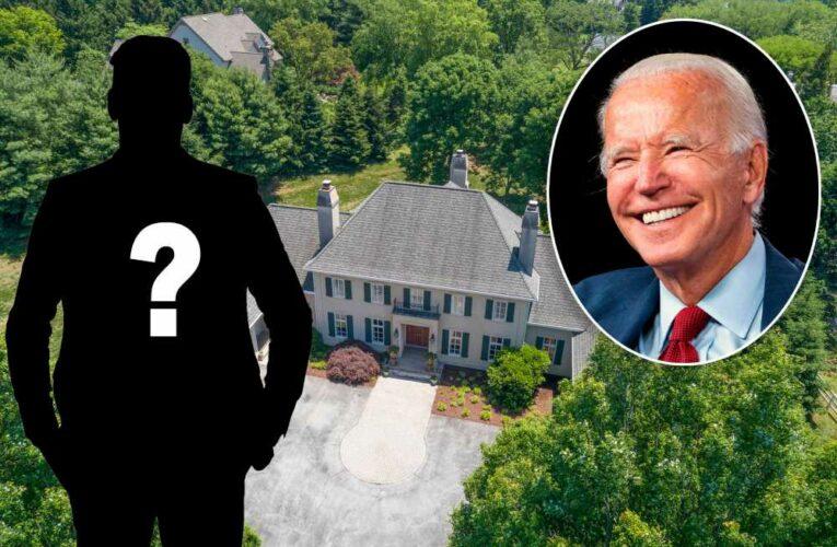 You can be Joe Biden's neighbor for $2.4 million