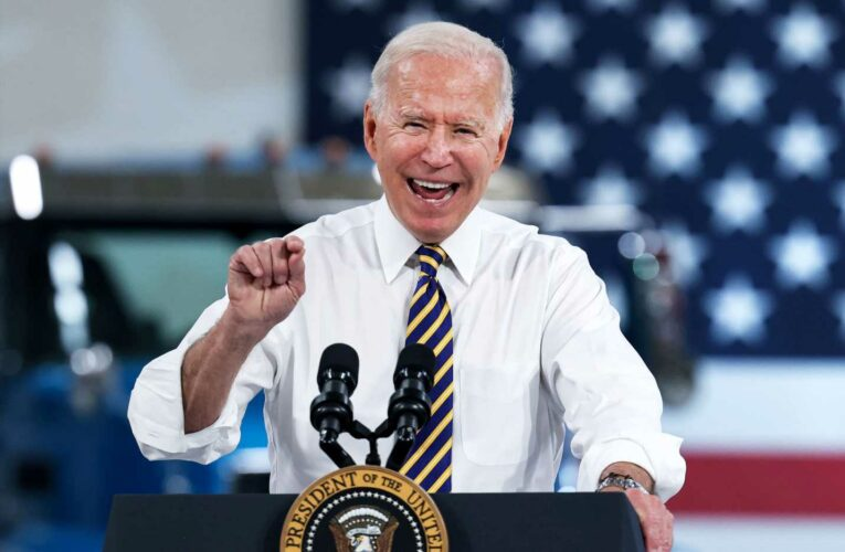 Biden approval ratings on Covid and economy fall in new CNBC All-America survey
