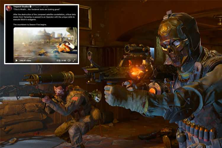Call of Duty Warzone Season 5 – release date, map changes, weapons and more