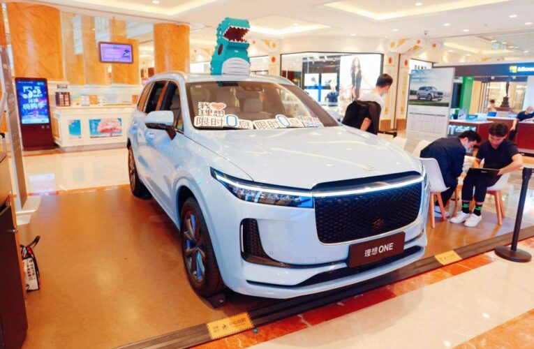 Chinese electric car start-up Li Auto delivers more cars than Xpeng again