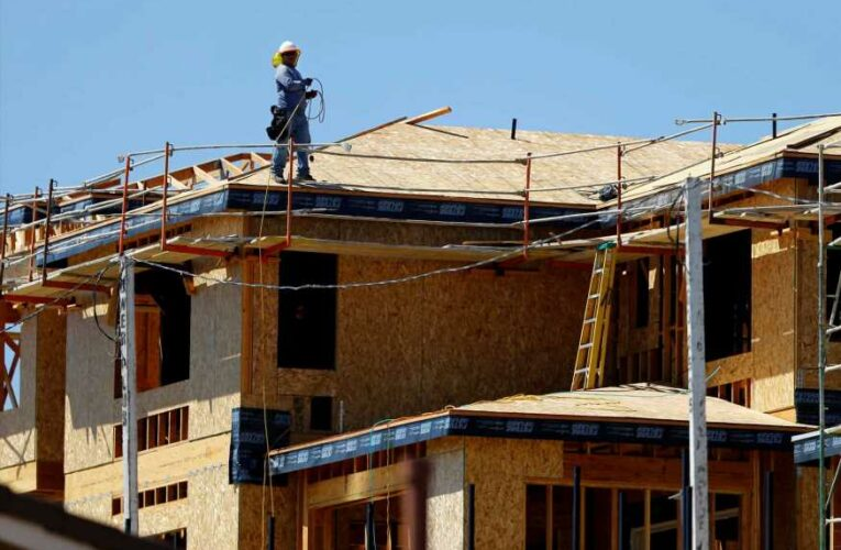 Homebuilder sentiment falls to lowest level in a year as buyers face sticker shock