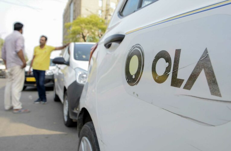 India's ride-hailing firm Ola set to go public 'sometime next year,' CEO says