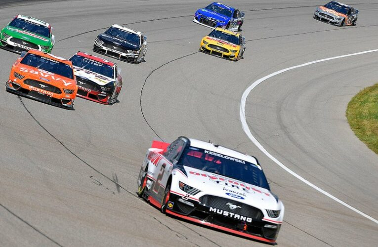NASCAR star says asking about vaccinations like asking about vasectomies