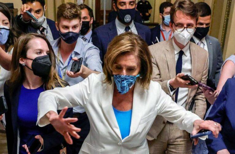 Pelosi sets vote on Biden's infrastructure agenda despite moderate Dems' revolt