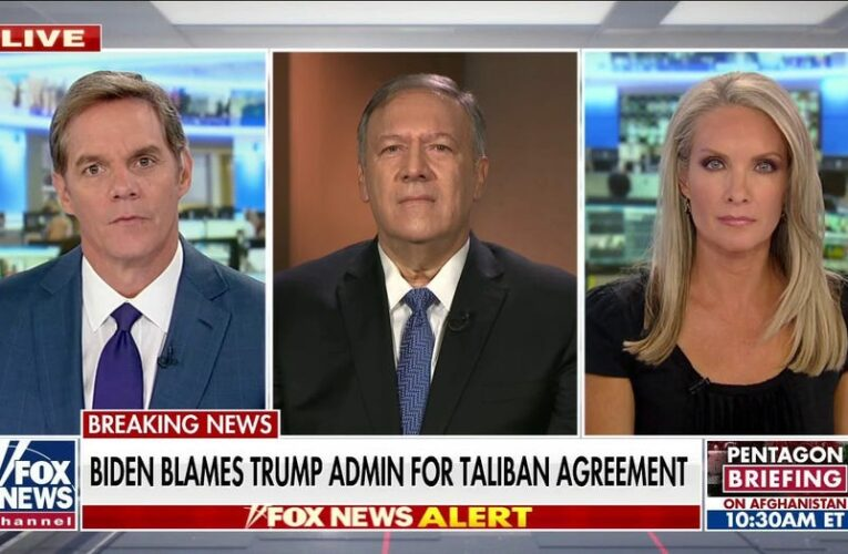 Pompeo pushes back on Biden blaming Trump for Afghanistan withdrawal: We 'maintained deterrence'