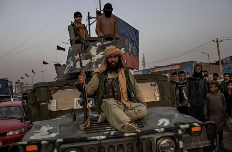 The Taliban inherited a vast American-made arsenal after retaking Afghanistan