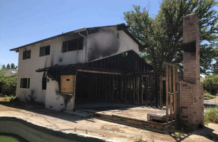 This fire-charred Silicon Valley home just sold for $1 million