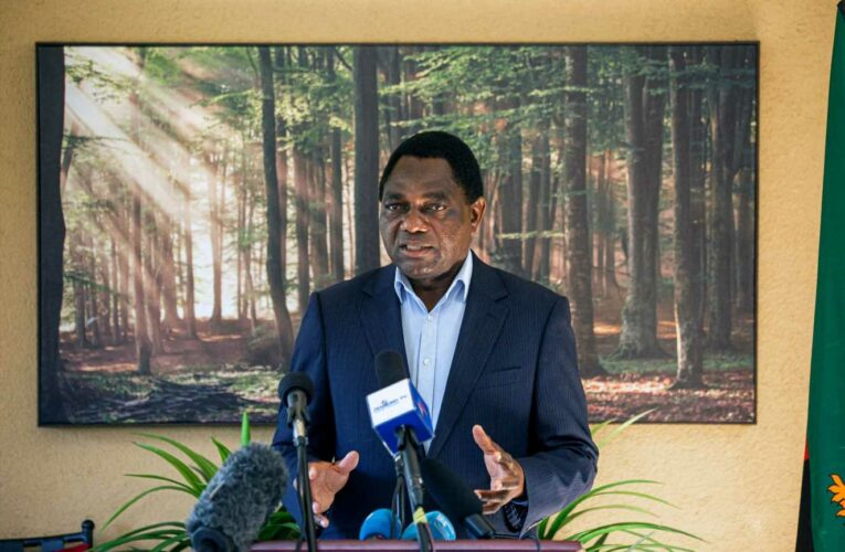 Zambian president Lungu concedes defeat after rival's landslide win