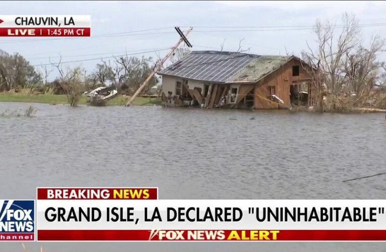 Biden to visit Louisiana to survey damage left by Hurricane Ida
