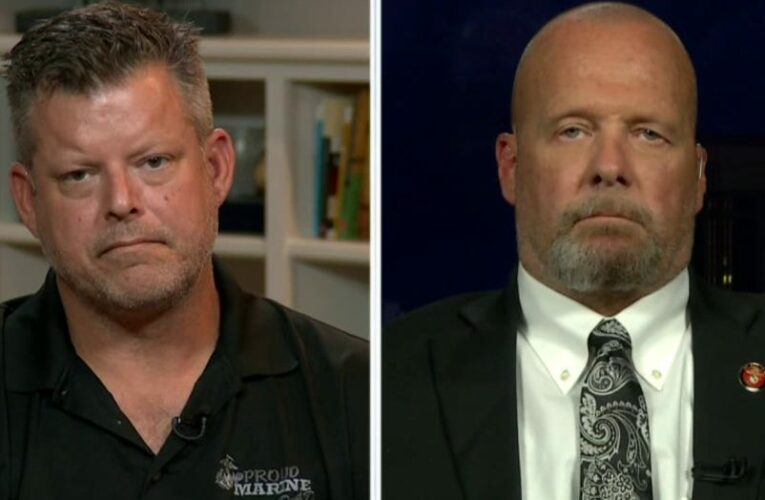 Fathers of Marines killed in Kabul blast rip Biden: 'He talked more about his son than my son'